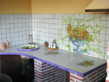 Cucina con top in pietra lavica - Top cucina pietra lavica ...